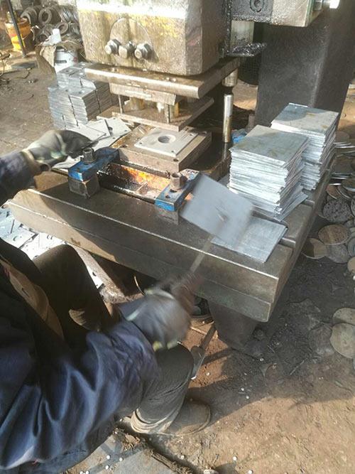 电缆轴配件法兰盘生产设备